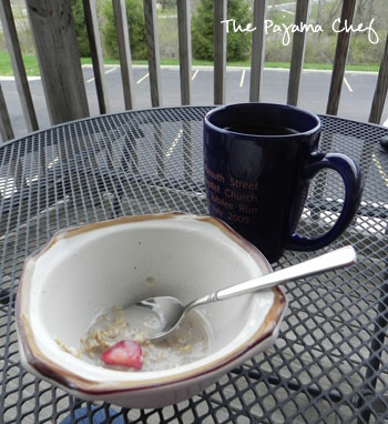 Maple Berry Overnight Oats | The Pajama Chef