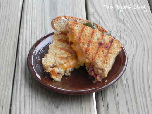 Jalapeño Popper Grilled Cheese | The Pajama Chef
