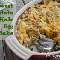 Sweet Potato and Kale Egg Bake