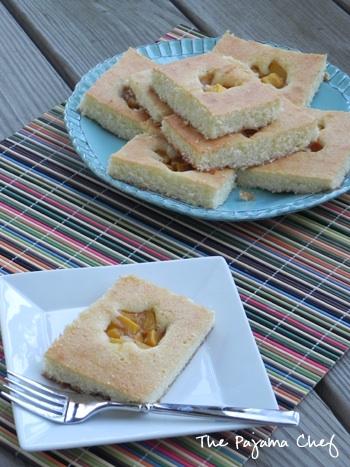 Mango Quick Cake Squares2