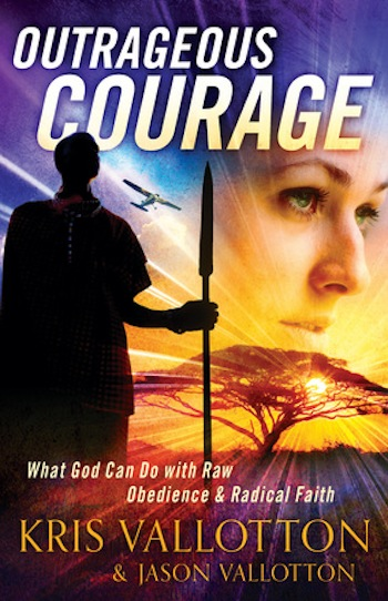 Outrageous Courage book review | The Pajama Chef
