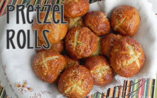 Pretzel Rolls | The Pajama Chef