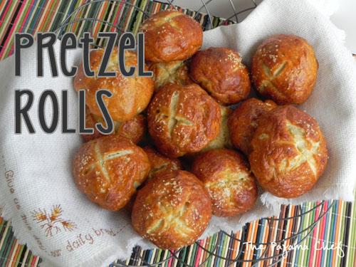 Pretzel Rolls | The Pajama Chef