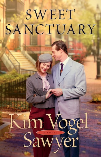 Sweet Sanctuary by Kim Vogel Sawyer reviewed on thepajamachef.com