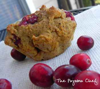 Autumnal Muffins | thepajamachef.com