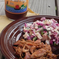 Sweet 'n Spicy Apple BBQ Chicken & Slaw