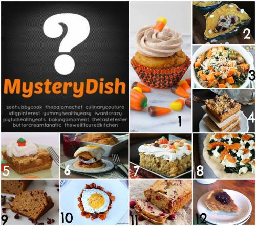 Mystery Dish Collage
