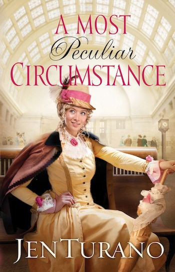 A Most Peculiar Circumstance Book Review on thepajamachef.com