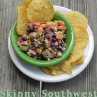 Skinny Southwest Chicken Dip