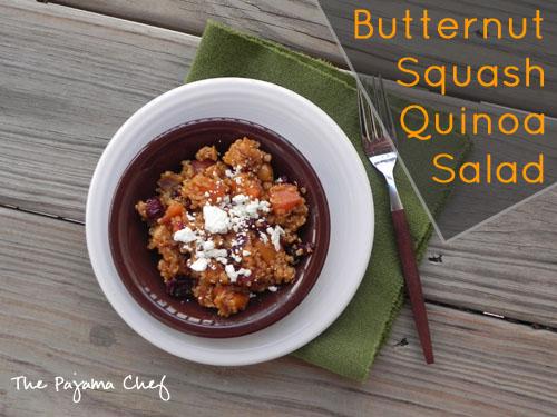 Butternut Squash Quinoa Salad | thepajamachef.com
