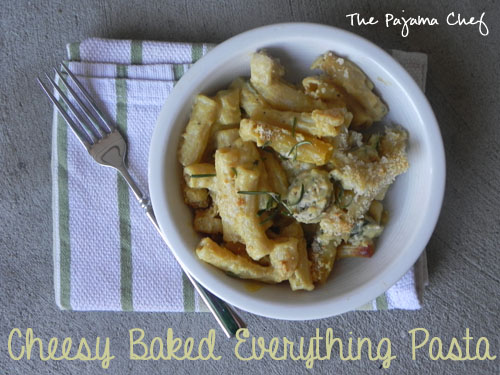 Cheesy Baked Everything Pasta2