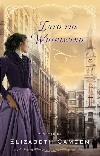Into the Whirlwind by Elizabeth Camden - reviewed on thepajamachef.com
