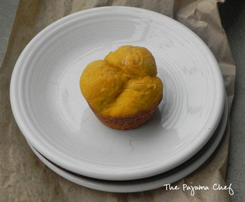 Pumpkin Cloverleaf Rolls | thepajamachef.com