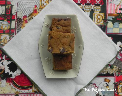 Dark Chocolate Ginger Squares | thepajamachef.com