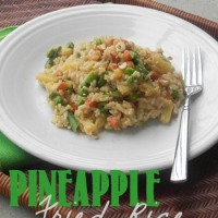 Quick & Healthy Pineapple Fried Rice