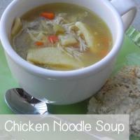 Lindsay's Chicken Noodle Soup
