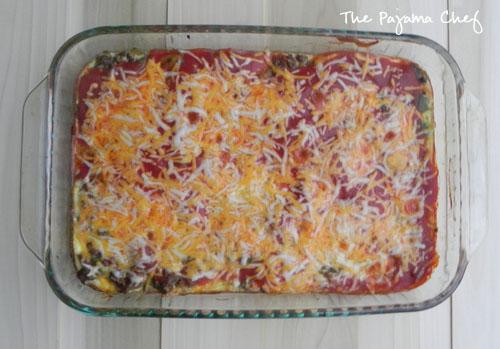 Chili Relleno Casserole | thepajamachef.com