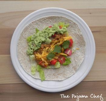 Tasty Mexican Lentils | thepajamachef.com