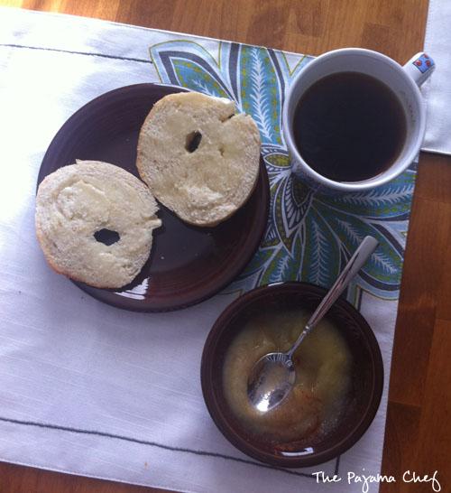 Easy Homemade Bagels | thepajamachef.com