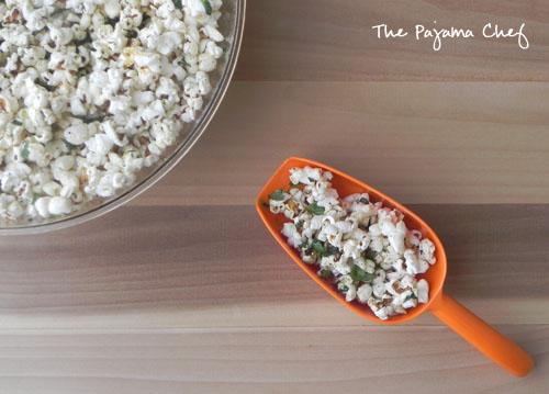 Chili Lime Popcorn | thepajamachef.com #mysterydish