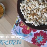 SRC: Coconut Curry Popcorn