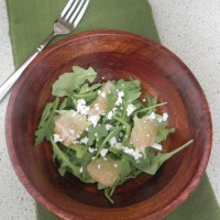 Grapefruit Arugula Salad
