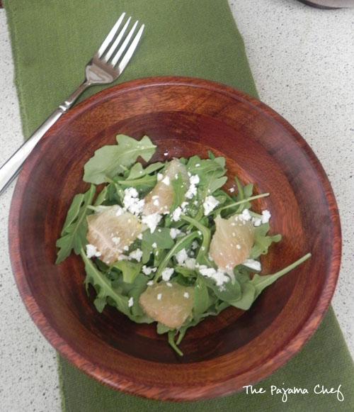 Grapefruit Arugula Salad | thepajamachef.com