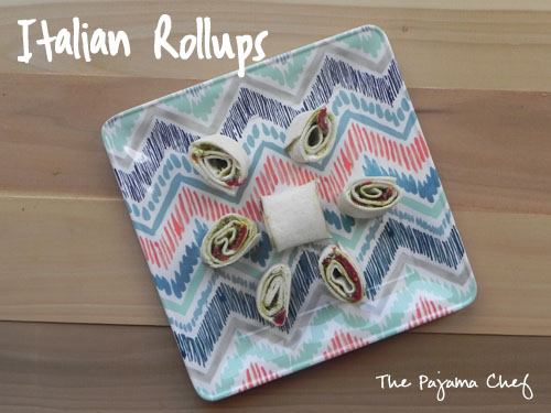 Italian Rollups | thepajamachef.com #easy #appetizer