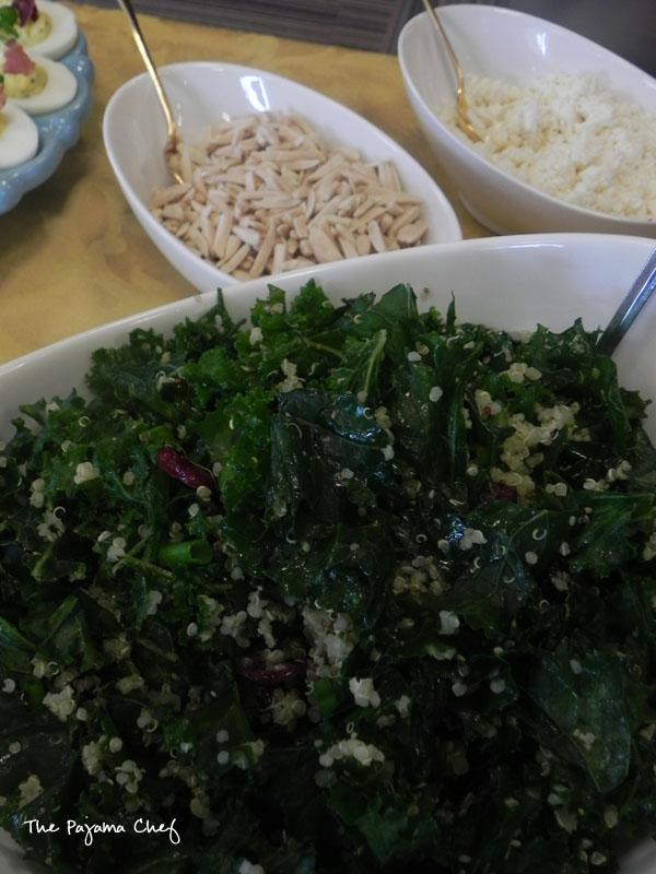 Kale Quinoa Salad | thepajamachef.com