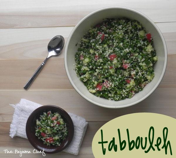 Tabbouleh | thepajamachef.com