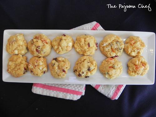 Tropical Cake Mix Cookies | thepajamachef.com