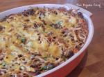 BBQ Baked Spaghetti | thepajamachef.com