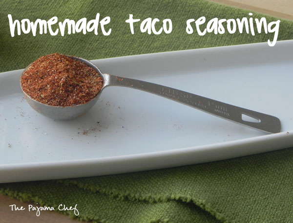 Homemade Taco Seasoning [Low Sodium] | thepajamachef.com