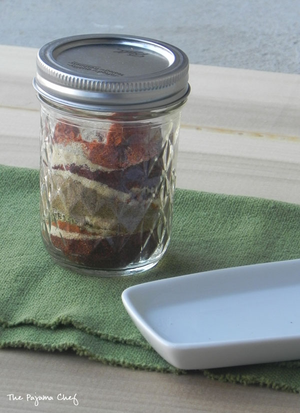 Homemade Taco Seasoning [Low Sodium] | thepajamachef.com