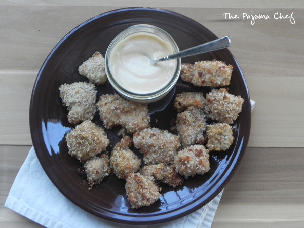 Baked Honey Chicken Nuggets with Homemade Chick-Fil-A Sauce | thepajamachef.com