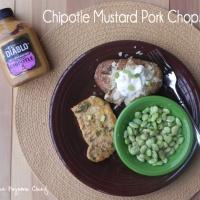 #10DaysofTailgate: Chipotle Mustard Pork Chops