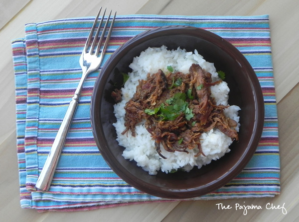 Crockpot Asian Pulled Chicken | thepajamachef.com