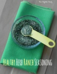 Healthy Herb Ranch Seasoning | thepajamachef.com