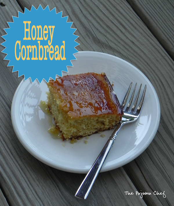 Honey Cornbread | thepajamachef.com