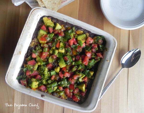 Hot Mexican Quinoa Dip | thepajamachef.com #10DaysofTailgate