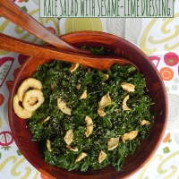 Mystery Dish: Kale Salad with Sesame-Lime Dressing