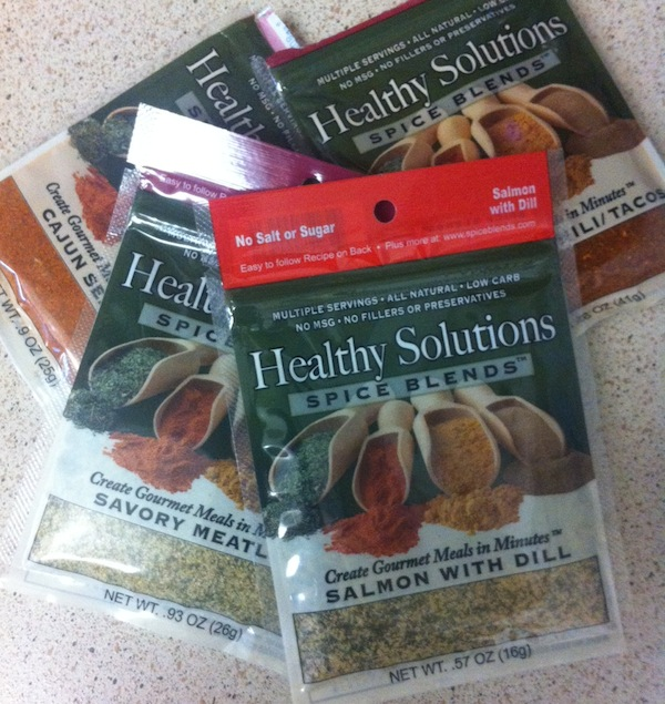 Healthy Solutions Spice Blends Review + Giveaway on thepajamachef.com