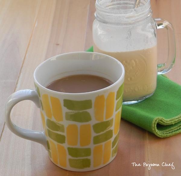Homemade Pumpkin Spice Coffee Creamer | thepajamachef.com