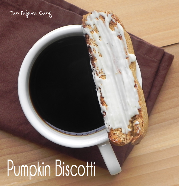Pumpkin Biscotti | thepajamachef.com #PumpkinWeek