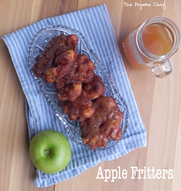 Apple Fritters | thepajamachef.com