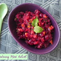 Cranberry Mint Relish + What To Do With All That Mint