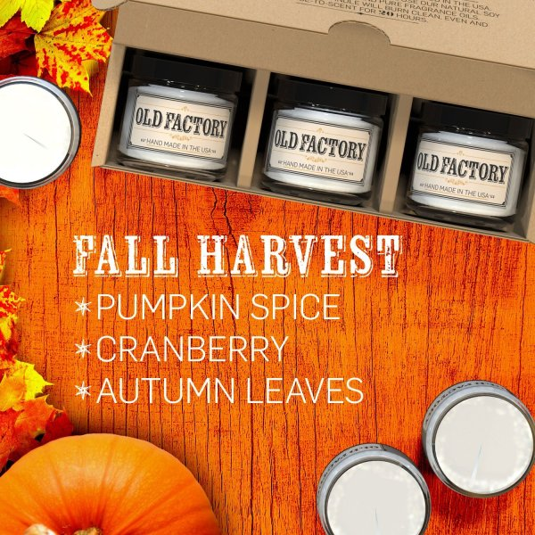 fall harvest candles - a review on thepajamachef.com