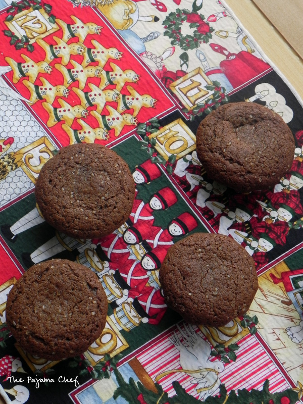 Gingerbread Muffins | thepajamachef.com