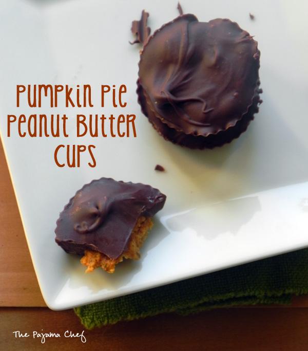 Pumpkin Pie Peanut Butter Cups | thepajamachef.com