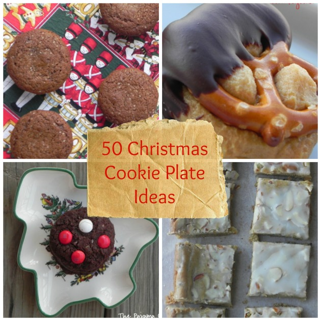 50 Christmas Cookie Plate Ideas | thepajamachef.com